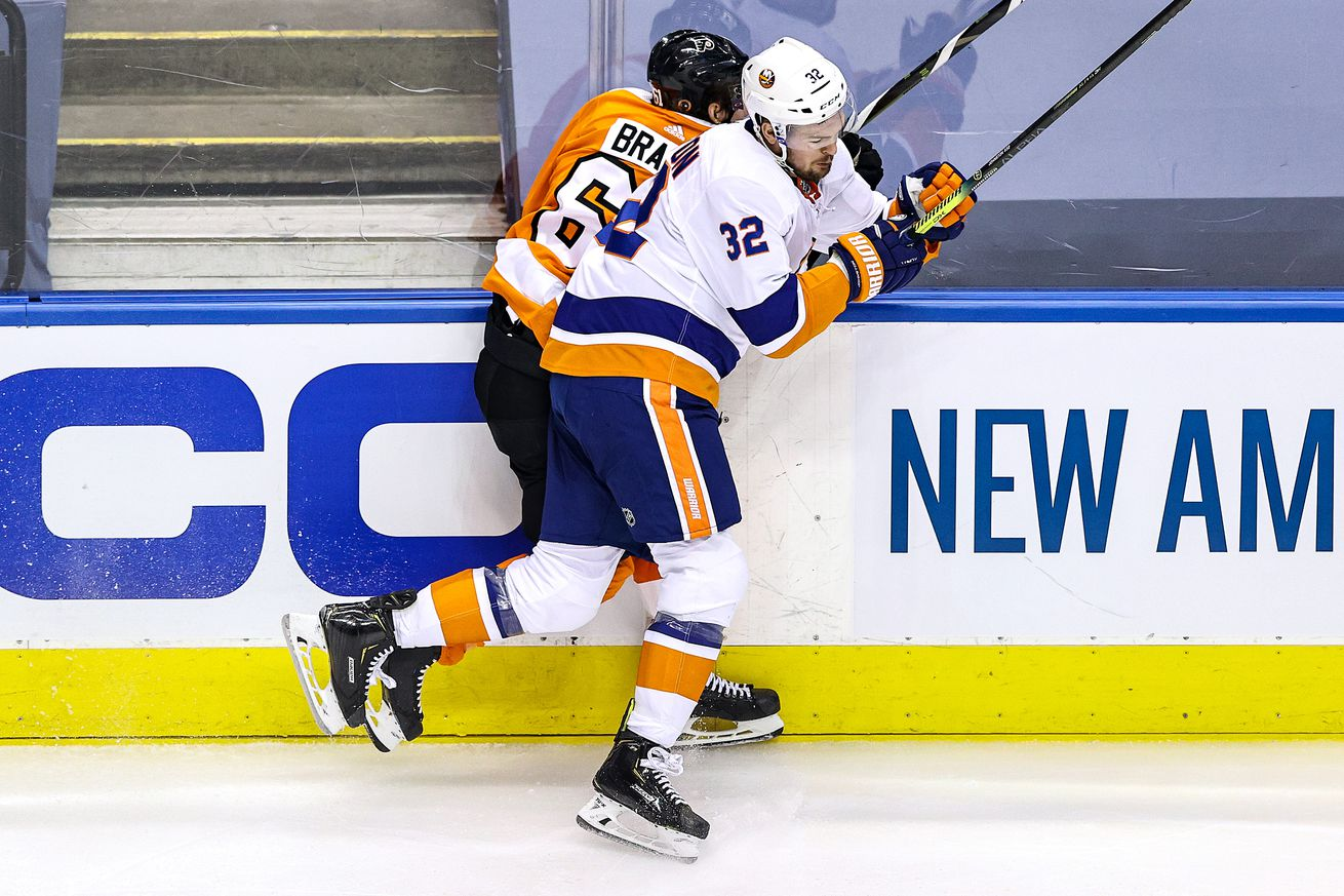 New York Islanders v Philadelphia Flyers - Game One