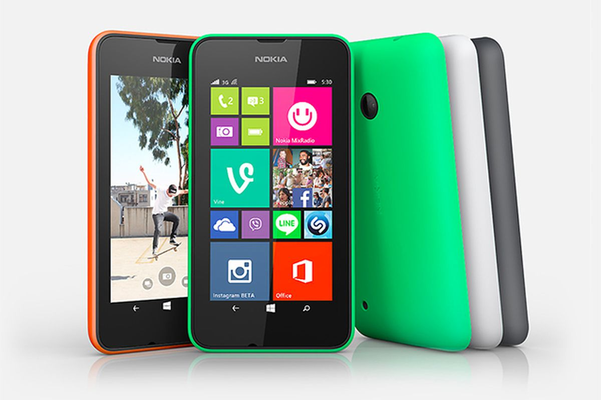 Microsoft android smartphone - Microsoft Has A New Smartphone Competitor For The Low End The Lumia 530 Designed As A Successor To The Popular Lumia 520 Microsoft S Lumia 530 Includes