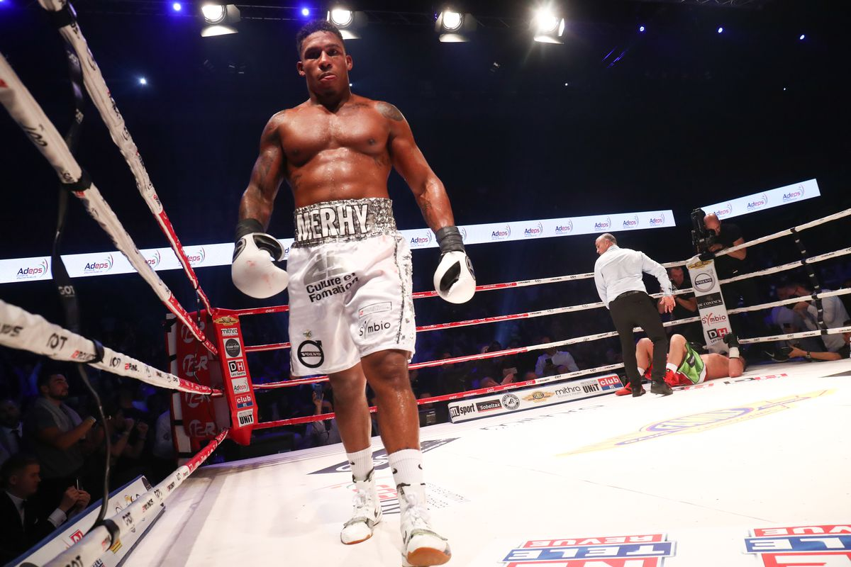 BOXING WBA INTERIM MERHY VS SZELLO