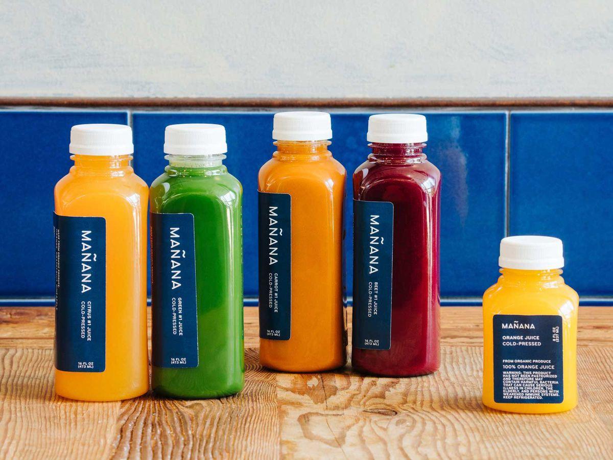 Manana's juices
