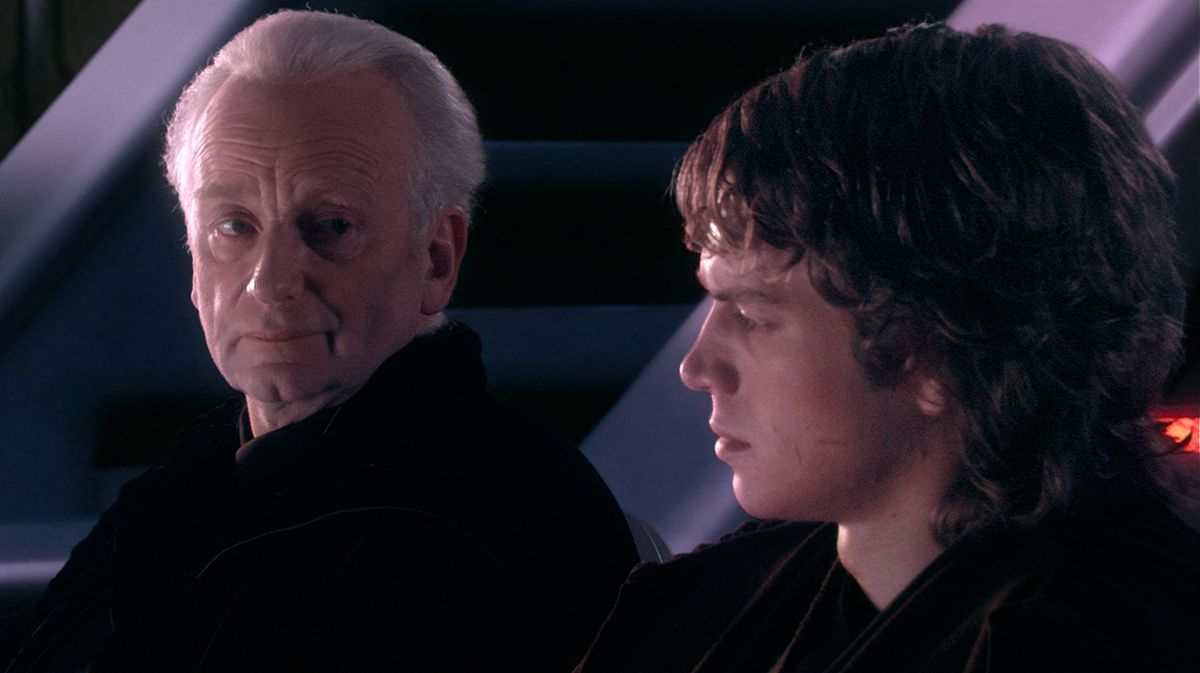 Senator Palpatine tells Anakin the story of Darth Plagueis in Revenge of the Sith