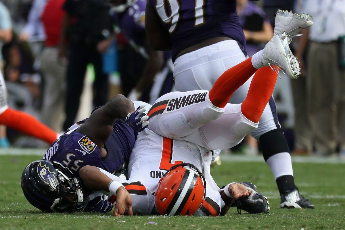Cleveland Browns vBaltimore Ravens