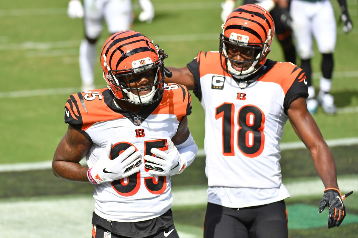 NFL Stats: Comparing Tee Higgins and A.J. Green rookie seasons ...