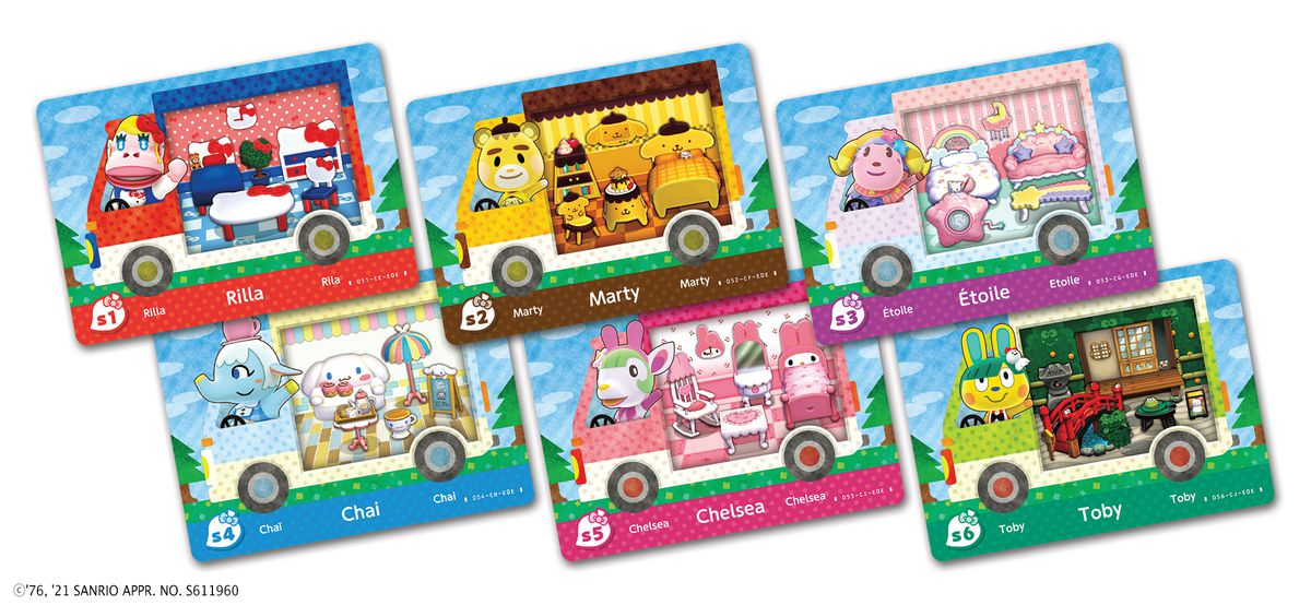 The new villager and furniture sets from Hello Kitty in Animal Crossing: New Horizons.