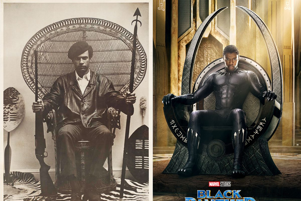 In Black Panther Wakanda S Throne References Real World Furniture