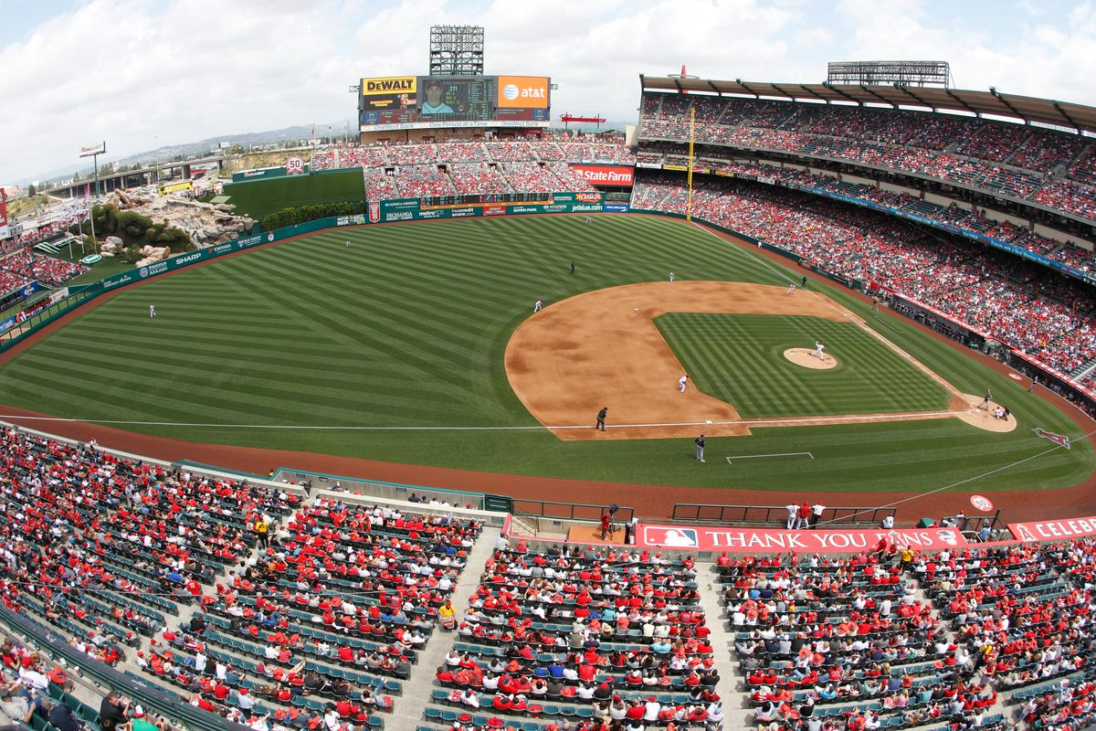 Cleveland Indians v. Los Angeles Angels of Anaheim