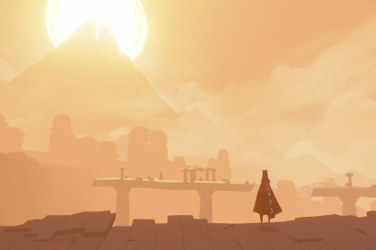 Thatgamecompanys Journey Gets A Surprise Ios Release The