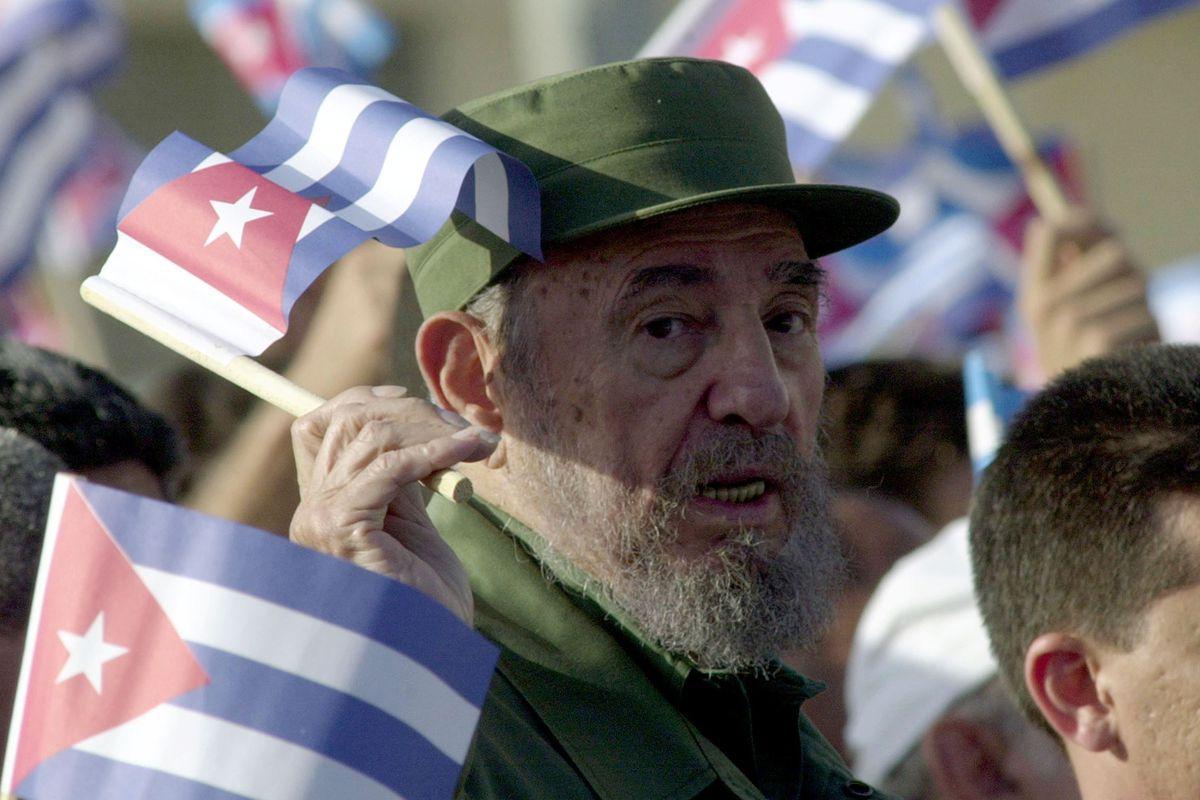 Fidel Castro Rallies Cubans In Havana