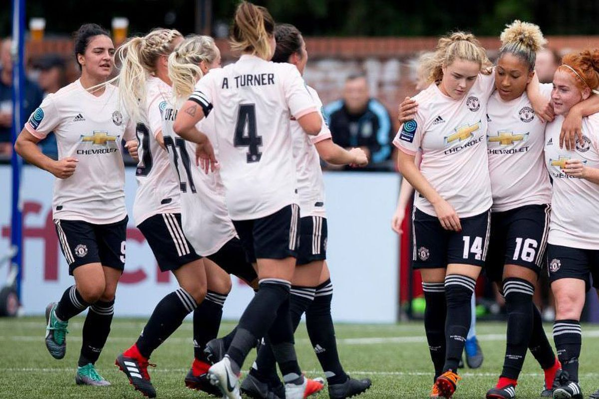 lowest price be589 f7a75 Manchester United Women score 12 (TWELVE!) against Aston ...