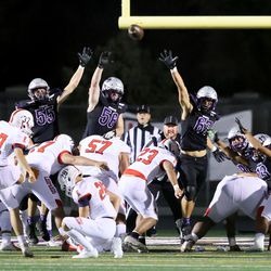 East and Riverton play a high school football game in Riverton on Friday, Oct. 9, 2020. East won 36-20.