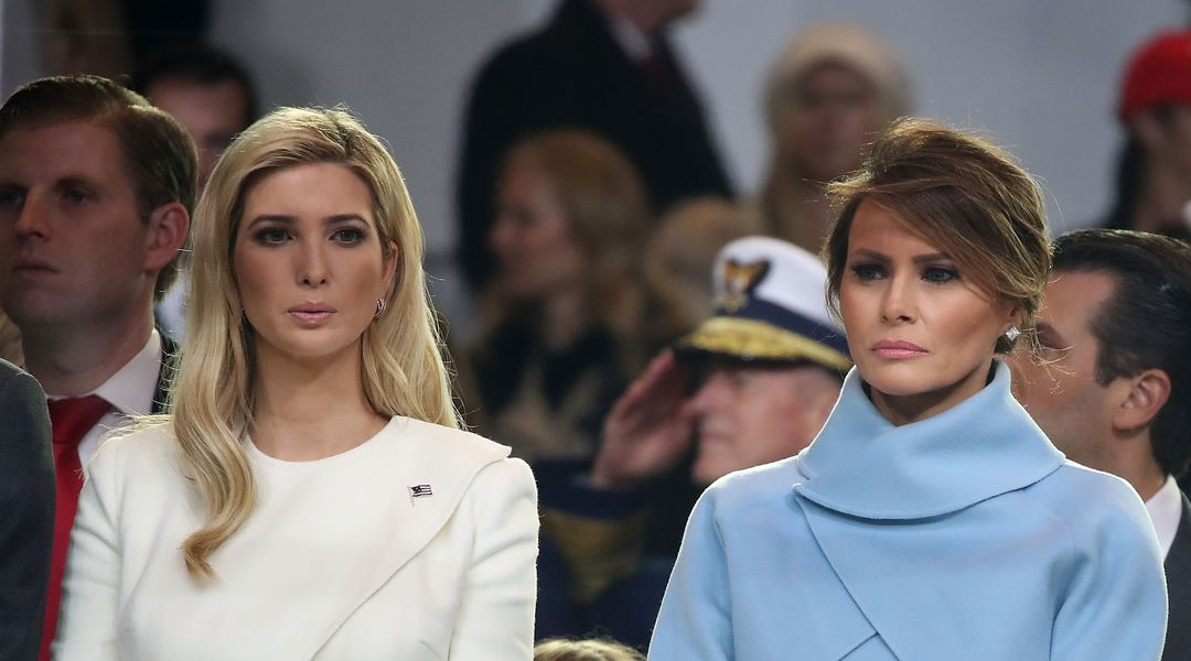 97f09a82fd01 Calling Ivanka and Melania Trump Handmaids is a popular joke. It s also a  bad one.