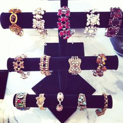 An array of sparkly wrist candy contenders.