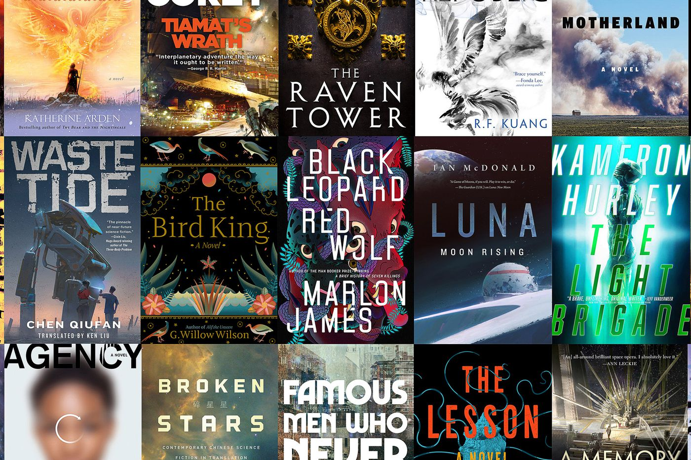 All the science fiction and fantasy books we're looking forward to