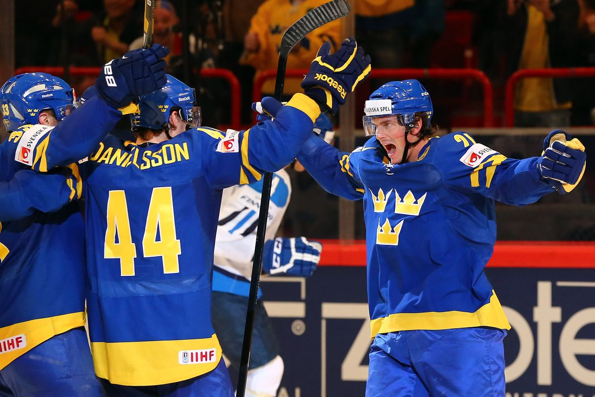 Loui Eriksson will get the chance to score more goals for Sweden in Sochi.