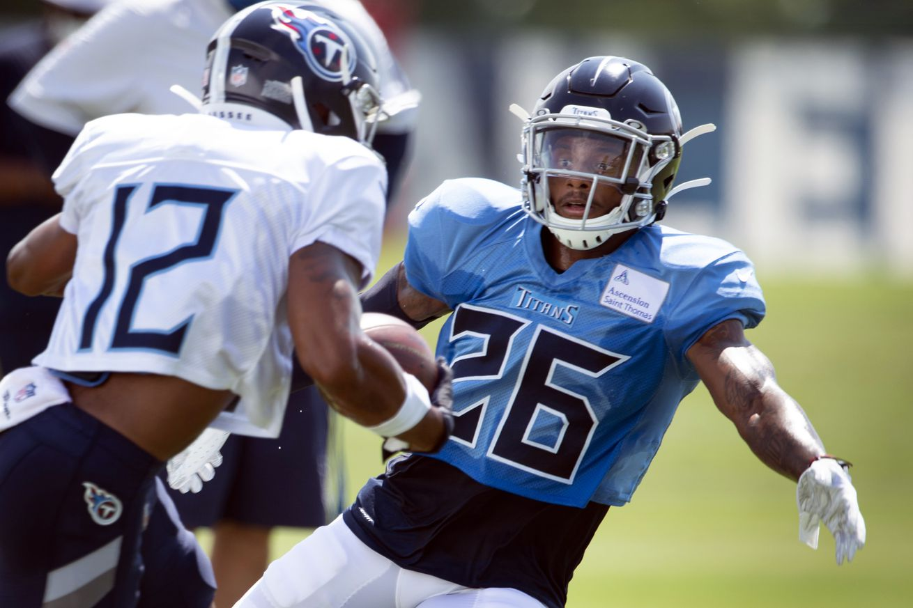 NFL: Tennesse Titans-Training Camp