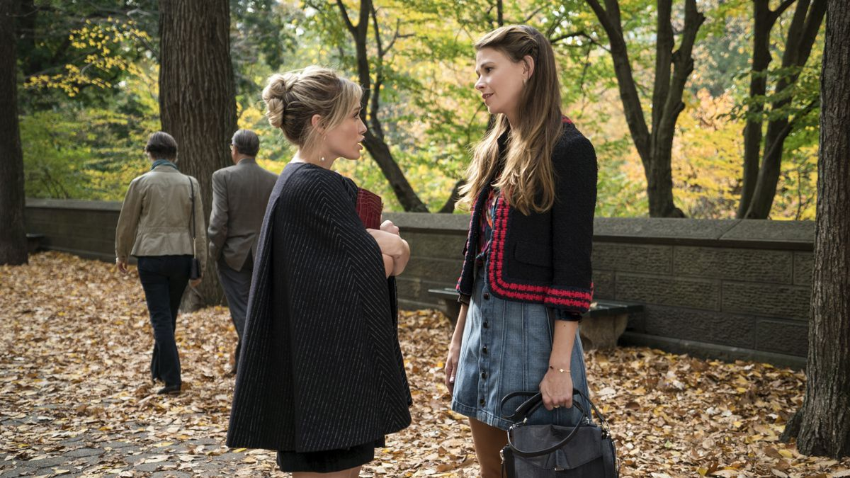 Hilary Duff as Kelsey Peters and Sutton Foster as Liza Miller on Younger.