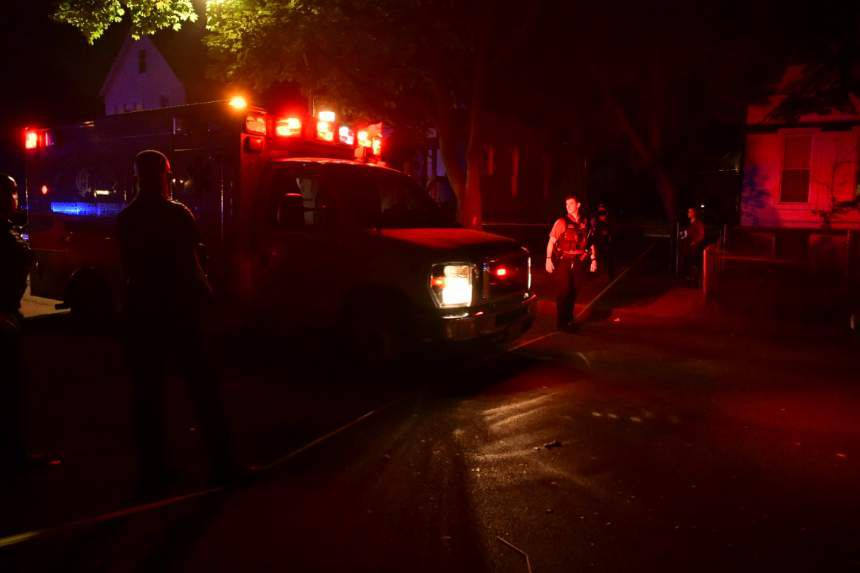 Eight people were shot, four of them fatally, July 4, 2020, in the 6100 block of South Carpenter Street.