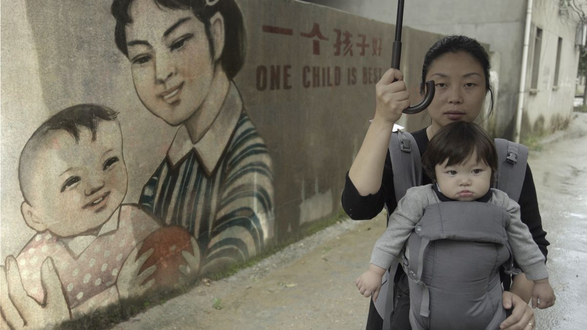 A scene from One Child Nation.