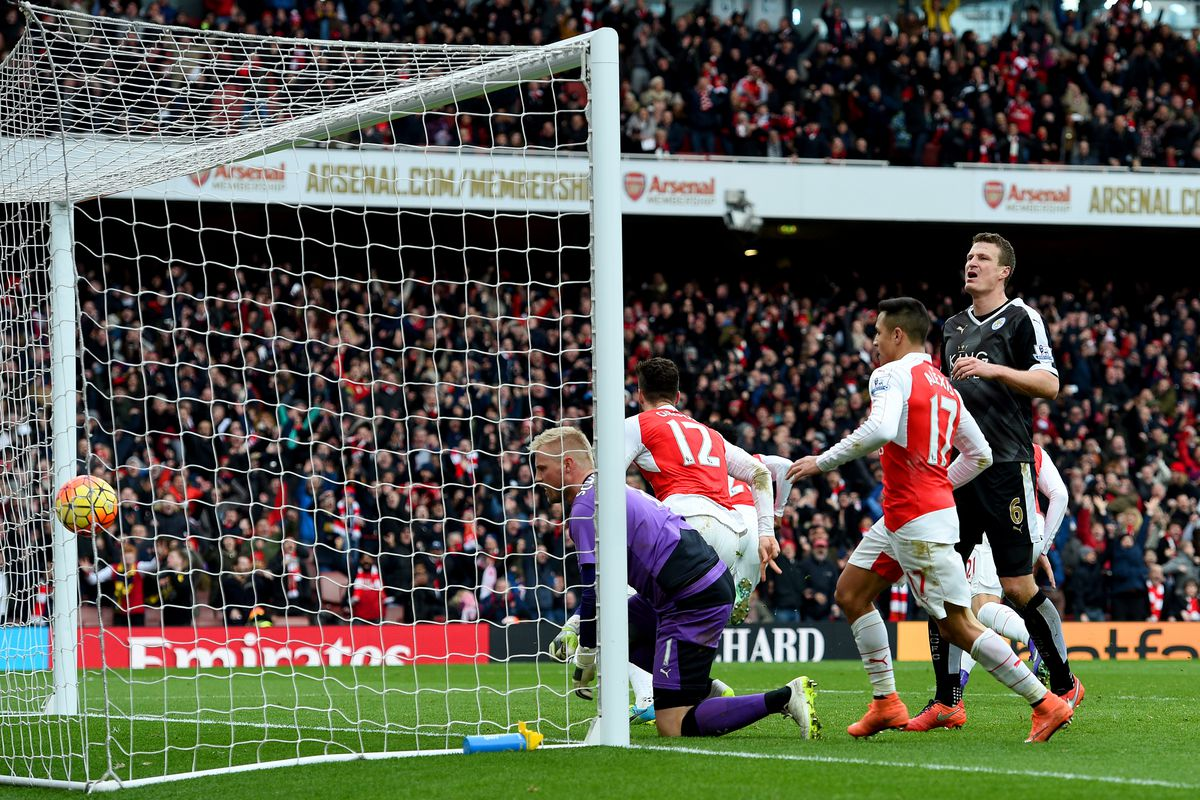 Where Were You Relive Danny Welbeck S Famous Leicester Goal The Short Fuse