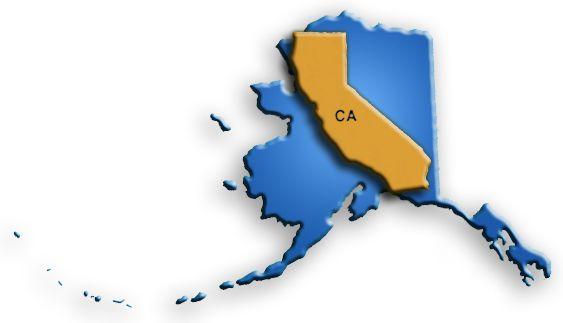 alaska california size comparison