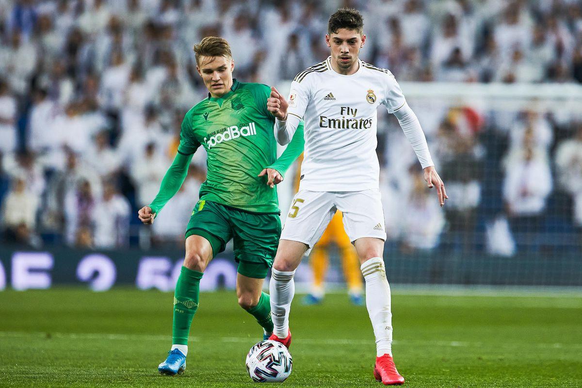 Real Madrid v Real Sociedad - Spanish King Cup