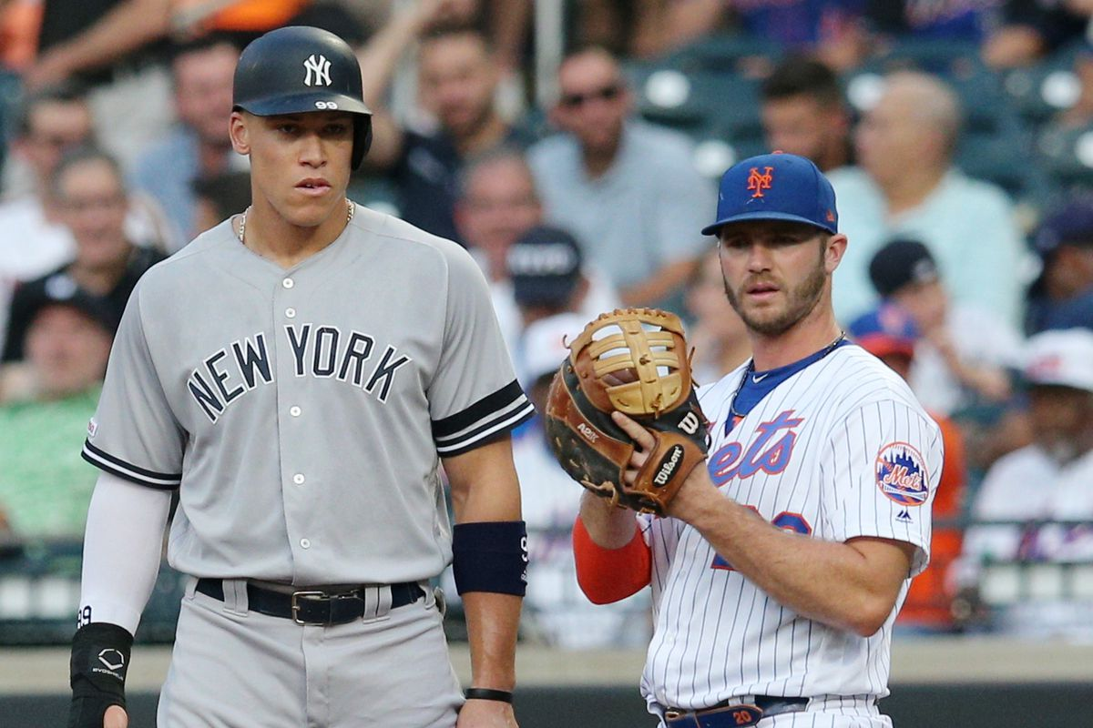Pete Alonso breaking Aaron Judge's rookie record is worth ...