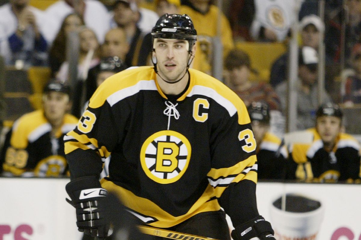 This guy has a knack for the perfect gift (Zdeno Chara)