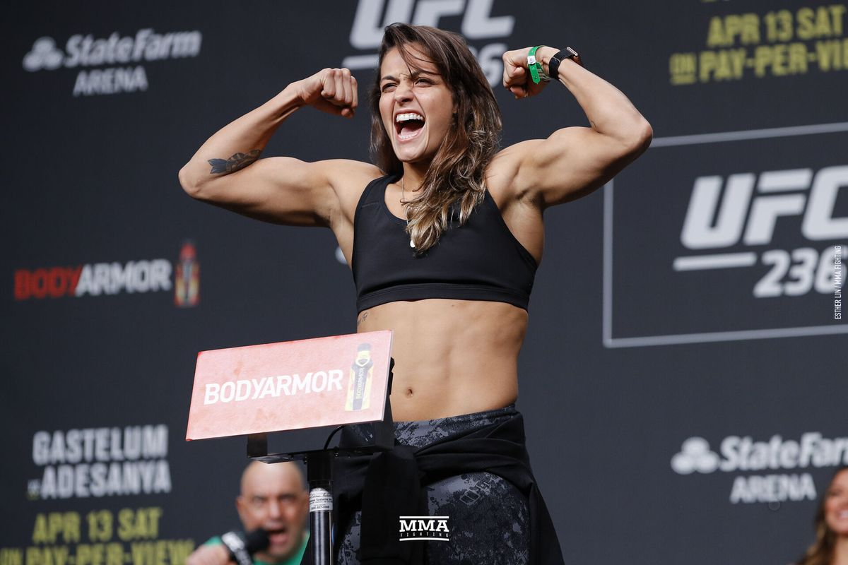 Poliana Botelho to fight Maryna Moroz at UFC 241