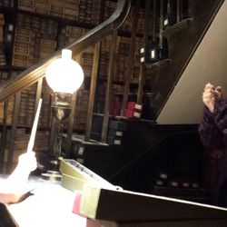 The wand chooses the wizard at Ollivander's.