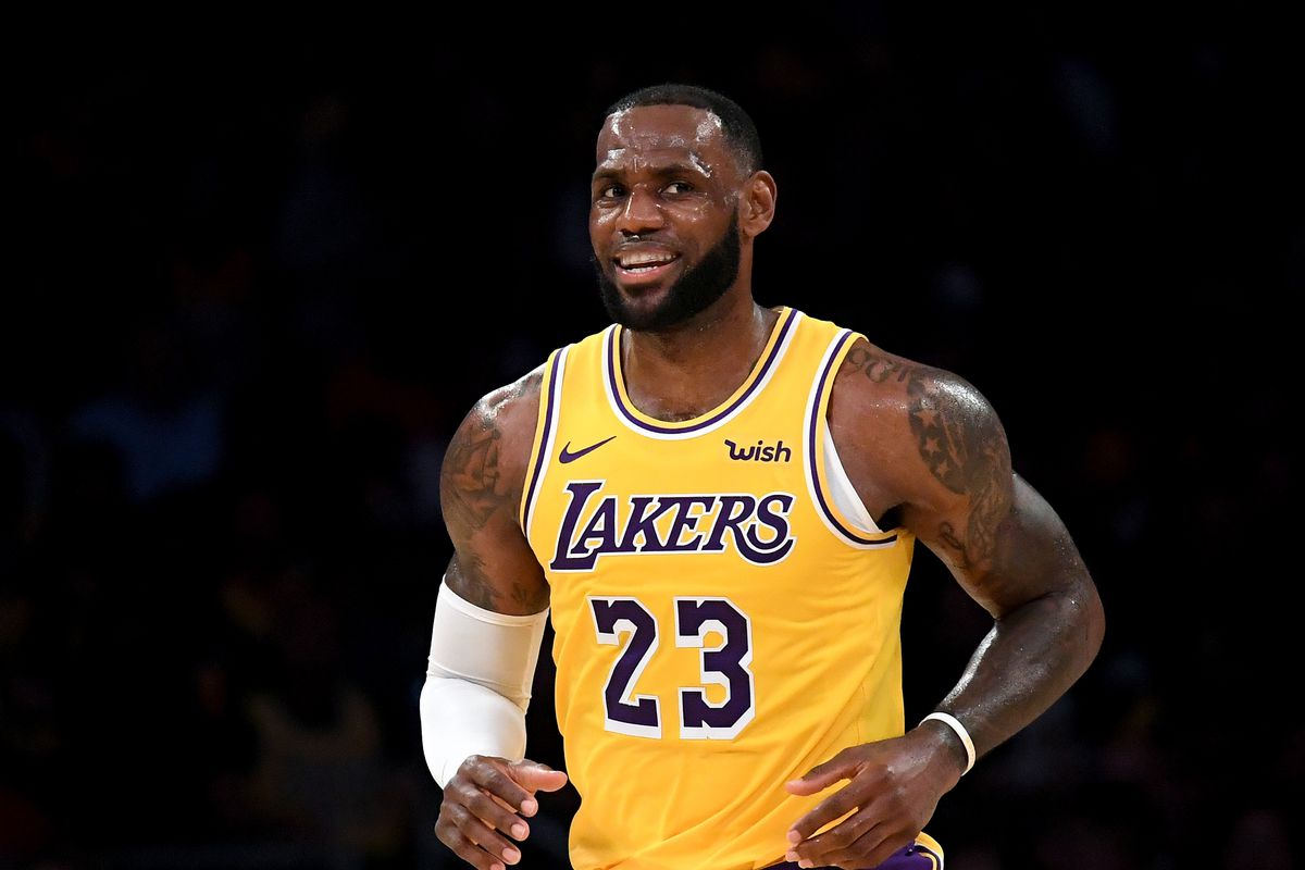 d9501a29b How LeBron James will help the Lakers play faster - Silver Screen ...