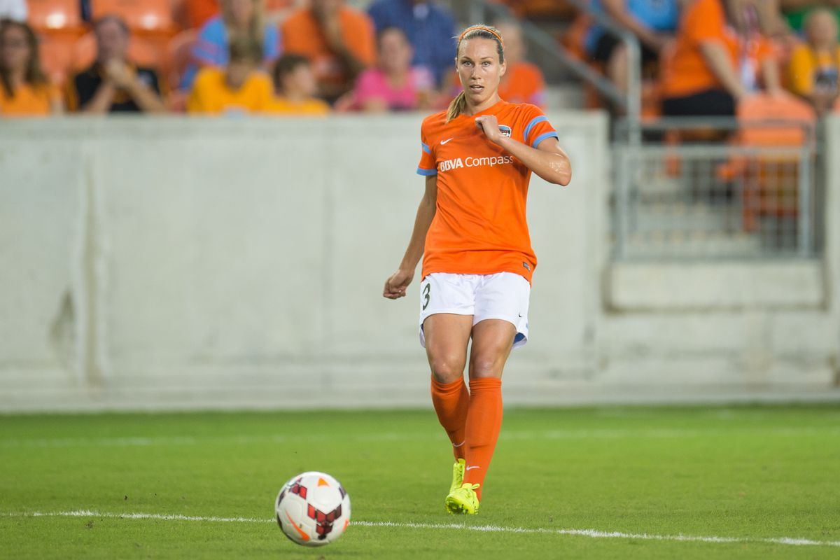Whitney Engen along with the rest of the Houston Dash have something to prove Friday as they host the Boston Breakers at BBVA Compass Stadium.