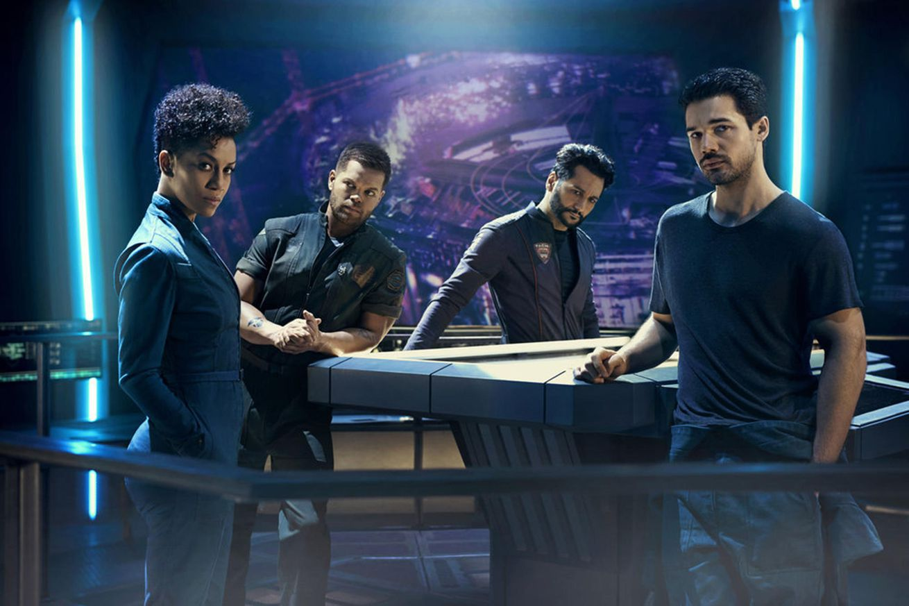 the expanse s third season will be its last on the syfy channel