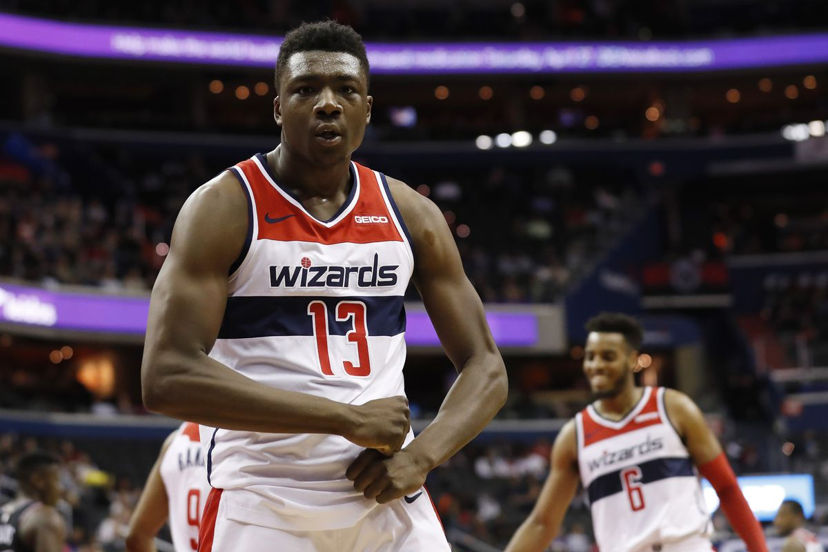 4941b48c87b Thomas Bryant had a breakout sophomore NBA season in 2018-19. The Wizards  should strongly consider keeping him next season. Geoff Burke-USA TODAY  Sports
