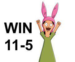WIN, 11-5