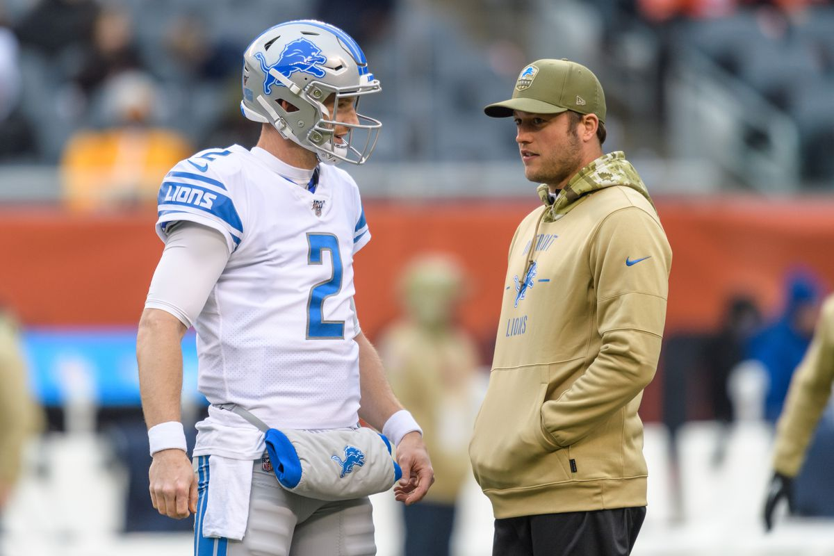 At quarterback, the Lions are learning to play F***'d