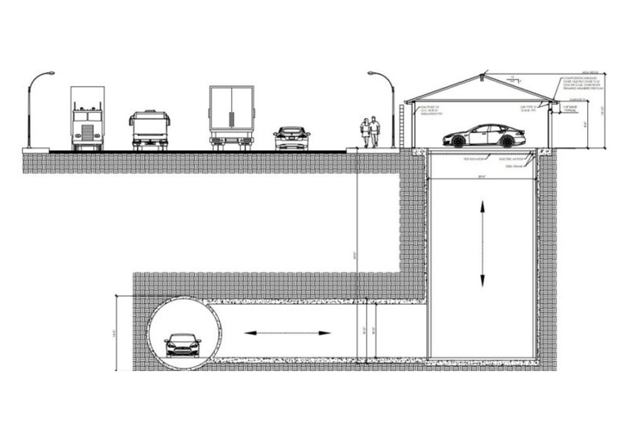 boring company gets approval to build a tunnel connecting a garage to a hyperloop