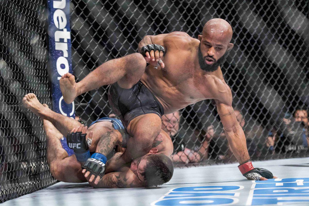 MMA: UFC 216-Johnson vs Borg