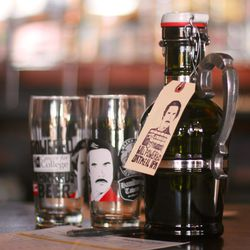 Automatic Brewing Co.'s Will Powered IPA and commemorative glass