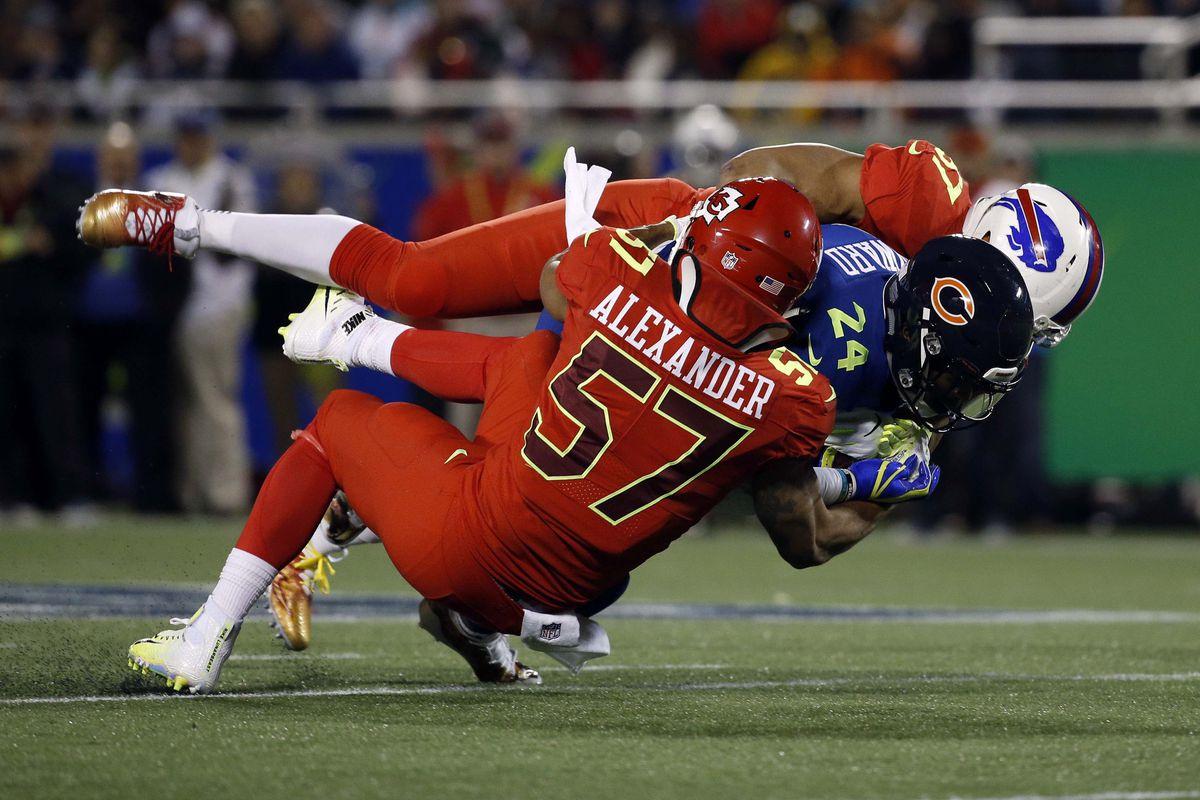 Jordan Howard ran strong at the Pro Bowl