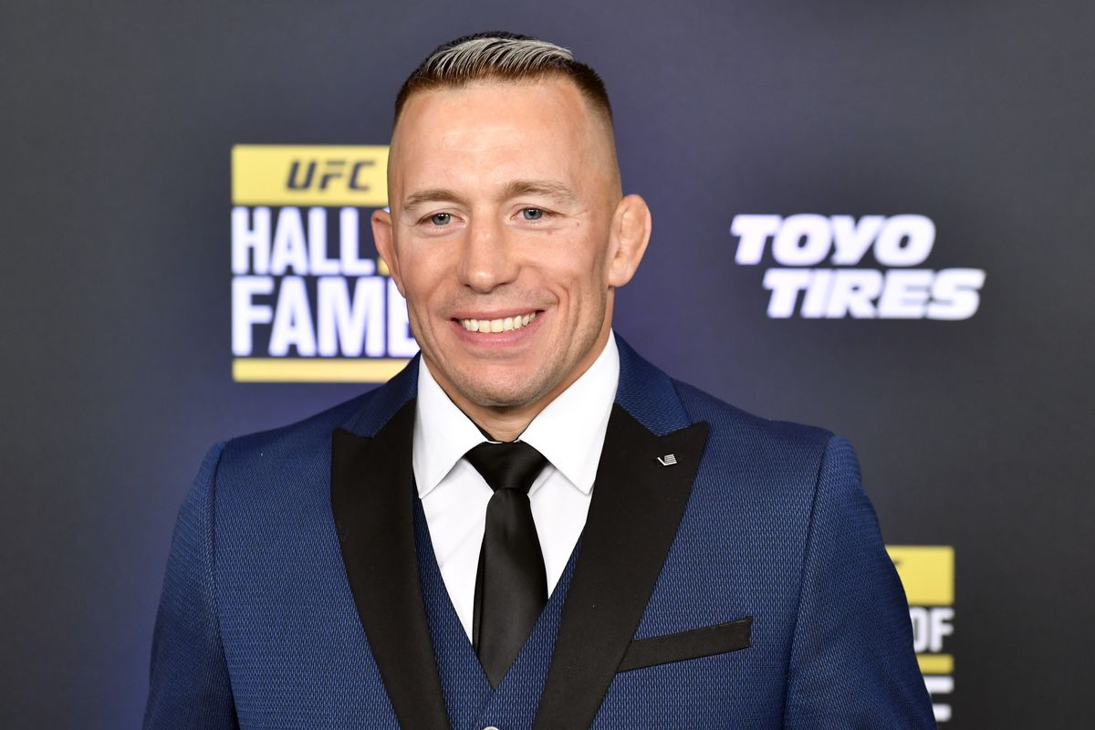 Two division former UFC champion Georges St-Pierre