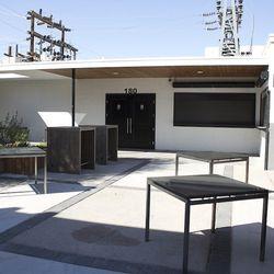 The patio at Mingo Kitchen & Lounge.