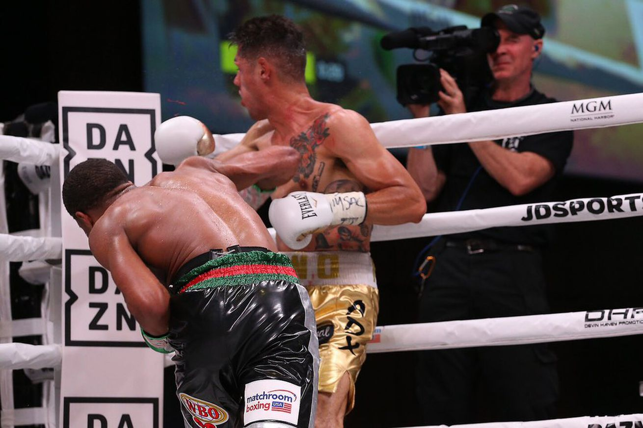 MatchroomBoxing 2019 May 25.5 - Haney scores monster KO over Moran in DAZN debut