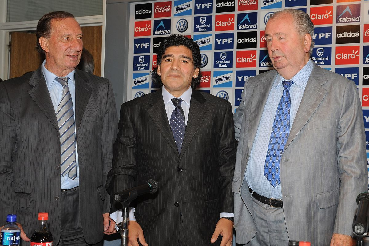 Diego Maradona Presented as New Argentina Football Coach
