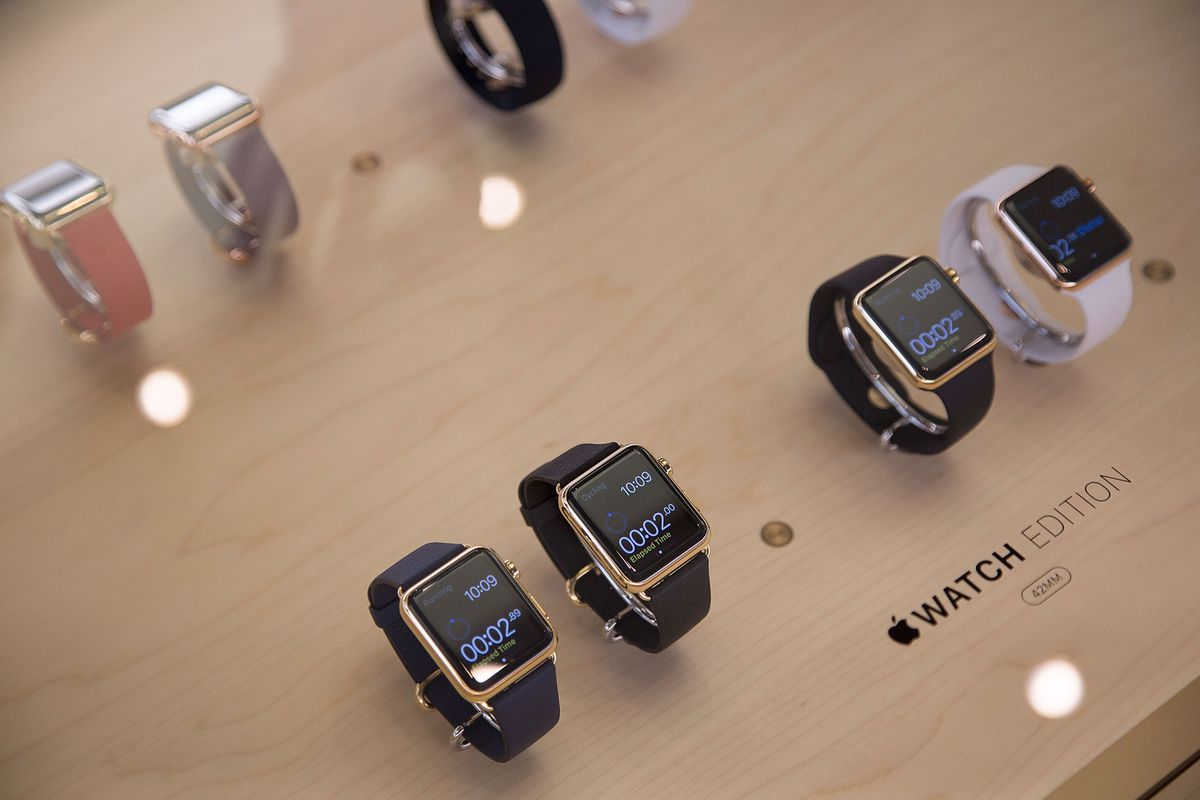 The Apple Watch has been fairly popular, but nowhere near as popular as the iPhone.