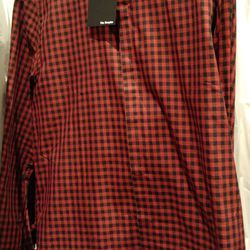 Button-down shirt, $70