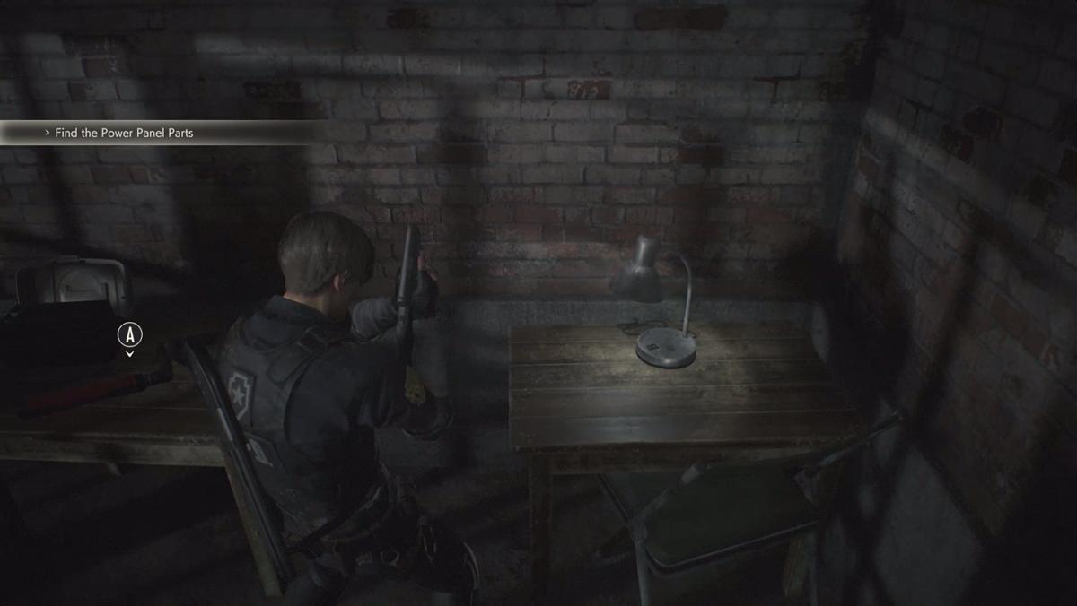 Resident Evil 2Square Crank Leon location