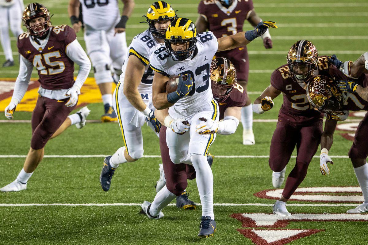 NCAA Football: Michigan at Minnesota