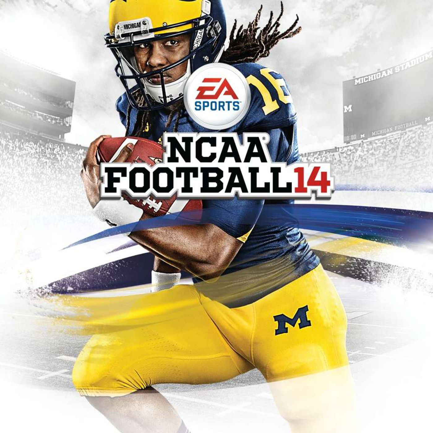 NCAA Football 14 throwback review: Denard Robinson the symbol of a better  time for sports gamers - Maize n Brew