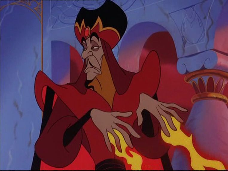 jafar casting a spell and not giving a damn