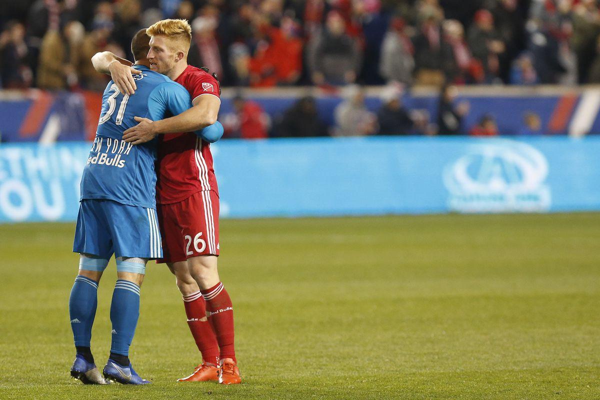 MLS: Eastern Conference Semifinal-Columbus Crew SC at New York Red Bulls